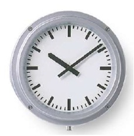Analogue marine clock aluminium Ø 320mm watertight IP66