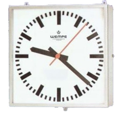 Picture of Analogue marine clock stainless st. A4 468 x 468mm