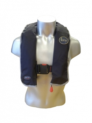 Picture of Kru XS automatic gas inflation waistbelt blue 180N