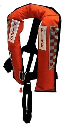 Picture of Colete Emergência Kru (Fire) Automático com arnês 308N