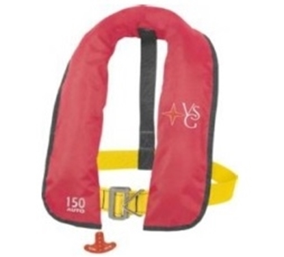 Picture of Inflatable lifejacket Skipper manual w/ harness