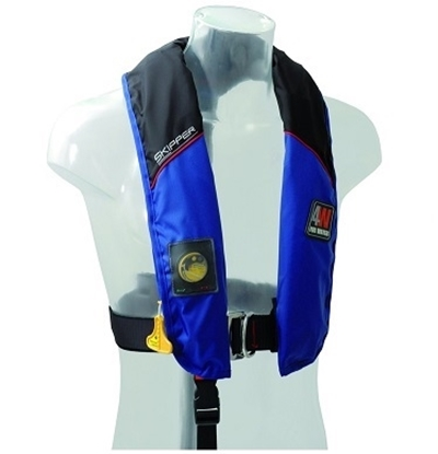 Picture of Skipper inflatable hydrostatic lifejacket Hammar w/ harness 150N