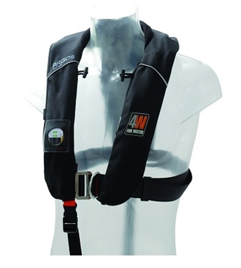 Picture of Argos inflatable automatic lifejacket w/ harness - 150N