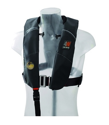 Picture of Procean inflatable hydrostatic lifejacket Hammar w/harness 150N
