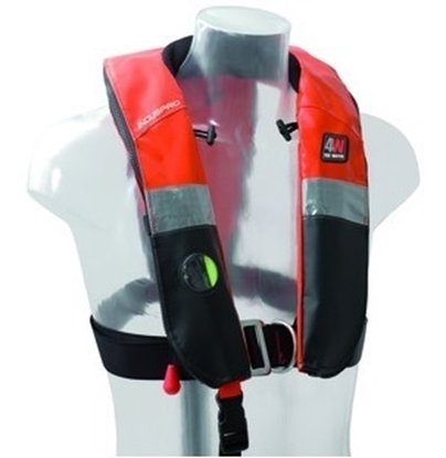 Picture of Induspro inflatable hydrostatic lifejacket Hammar w/harness 150N
