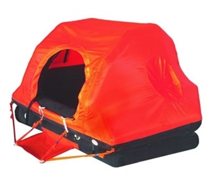 Picture of Deep Sea 6 persons liferaft ISO 9650-1 T1 - container
