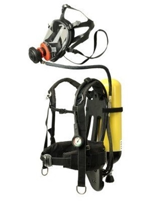 Picture of RN/A 1603 FR self contained breathing apparatus