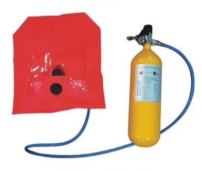 Picture of THRS emergency escape breathing device