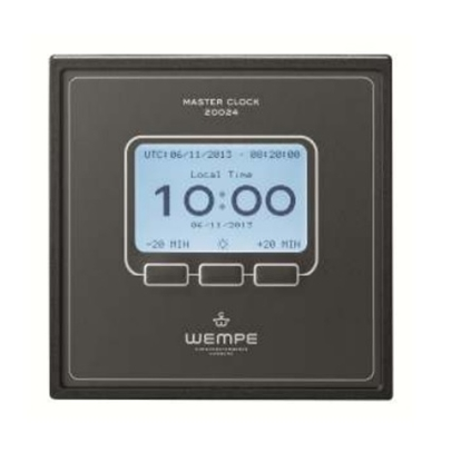 Wempe digital master clock