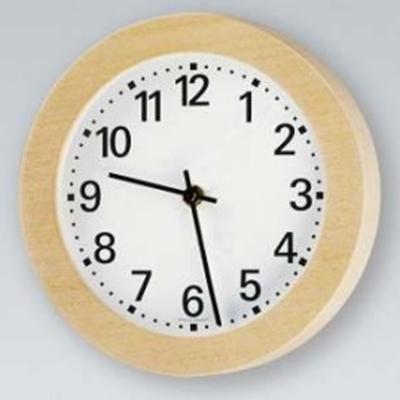Analogue marine clock aluminium Ø 220mm watertight IP44