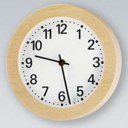 Analogue marine clock aluminium Ø 220mm watertight IP44