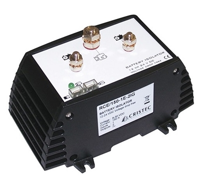Picture of Cristec battery isolator 150A/ 1 input - 2 outputs