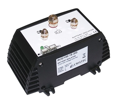 Picture of Cristec battery isolator 180A/ 1 input - 2 outputs