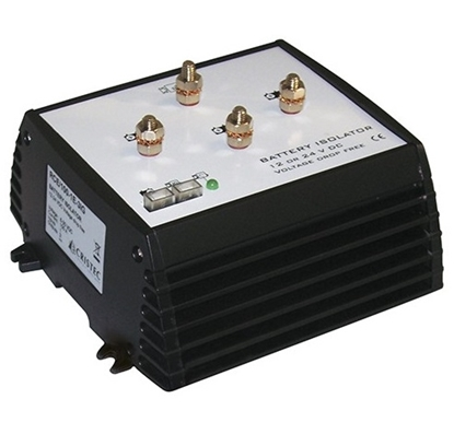 Picture of Cristec battery isolator 180A/ 1 input - 3 outputs