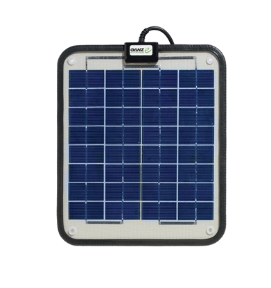 Picture of Semi flexible non glass solar panels GSP-6 - 6W