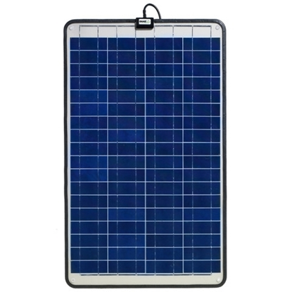 Picture of Semi flexible non glass solar panels GSP-40 - 40W