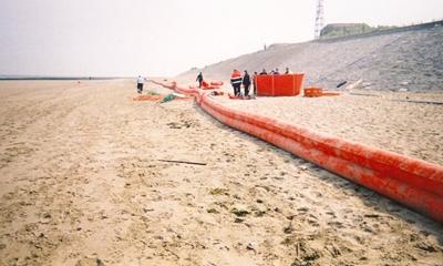 Barreira de contenção insuflável Shoreguardian