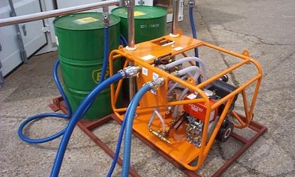 Sistema pulverização dispersante Vikospray