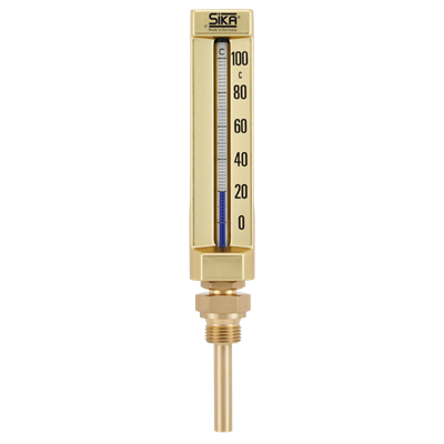 Thermometer type B with male thread - 200mm