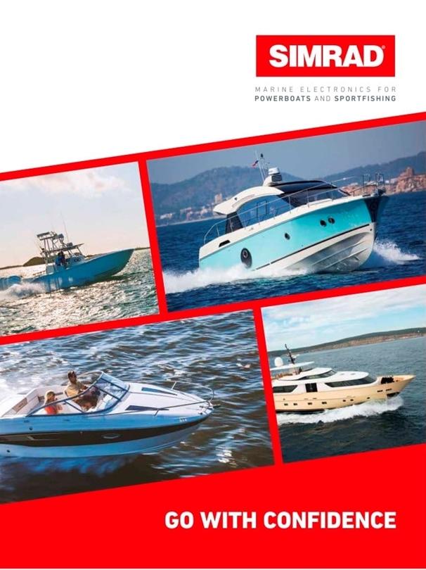 Novos catálogos Lowrance, Simrad & B&G 2017