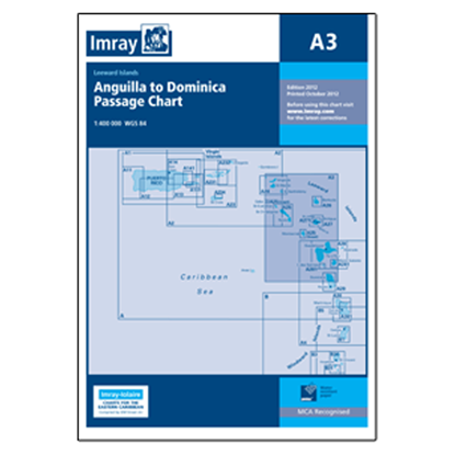 Picture of A3 Anguilla to Dominica Passage Chart