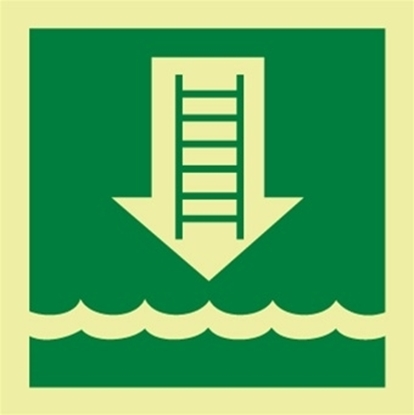 IMO Sign-embarkation ladder 15x15
