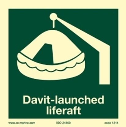 Picture of Davit-launched liferaft