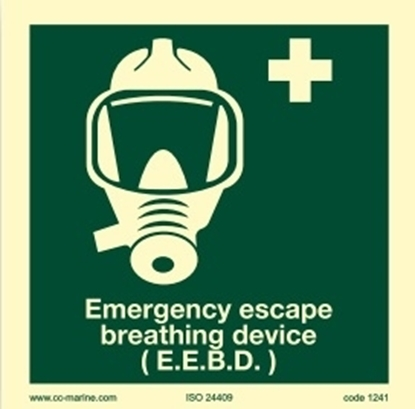 Picture of Emergency escape breathing device