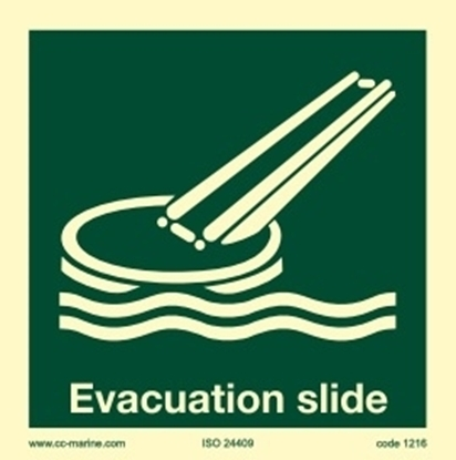 Picture of Evacuation slide