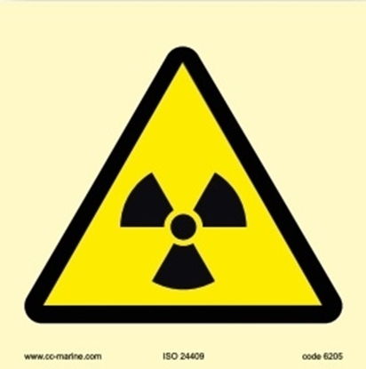 Picture of Warning Sign- Caution noise 15x15