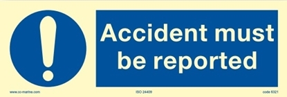 Accident must be reported