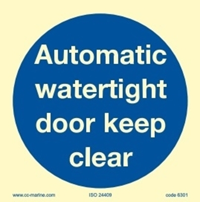 Picture of Aut.watert.door k.clear 15x15