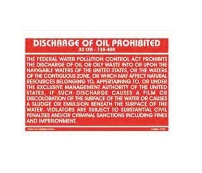 Picture of Training Poster-Disch.of oil pro.