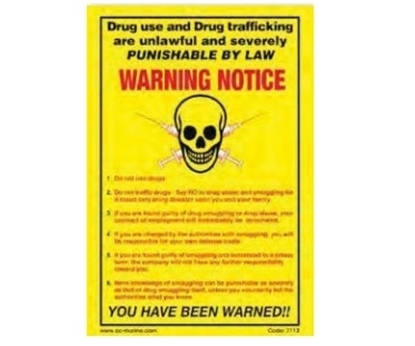 Picture of Training poster-Drug trafficking