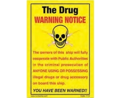 Picture of Training poster-Drug warning