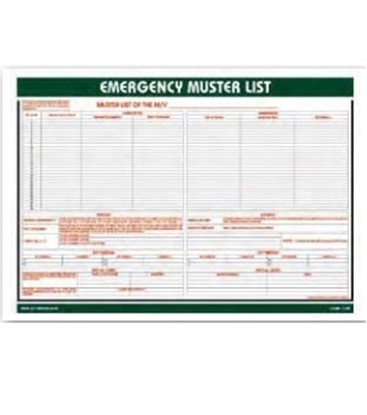 Picture of Training Poster-emergency must.list IMPA 47.510.12