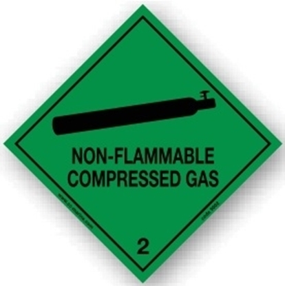 Picture of Class Sign- non flammable compressed gas 25x25