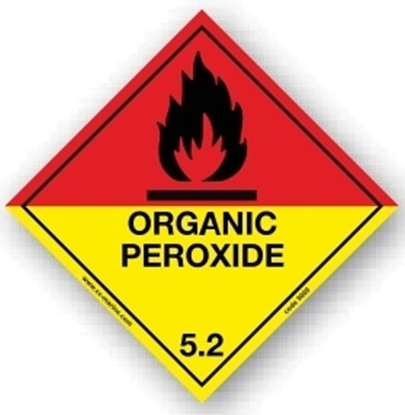 Picture of Class Sign- organic peroxide 25x25