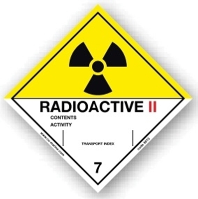 Picture of Class Sign- radioactive II 25x25