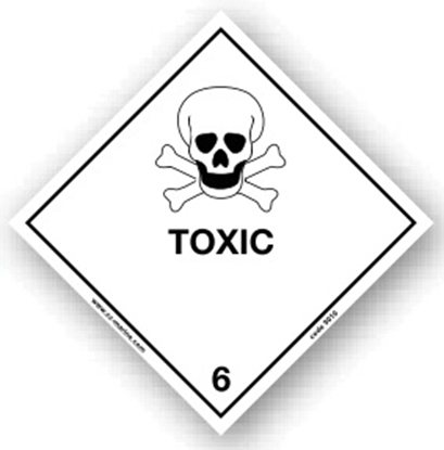 Picture of Class Sign- toxic 25x25