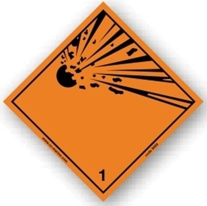 Picture of Class sign explosive