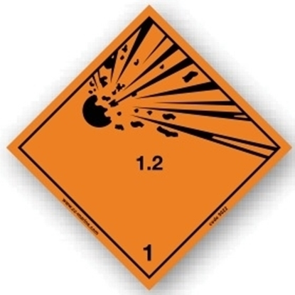 Picture of Class sign Explosive 1.2
