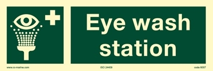 Picture of IMO Sign-emer eye wash 30x10
