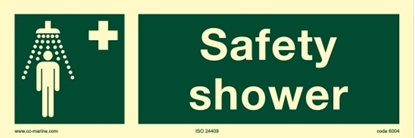 Picture of IMO Sign-emer shower 30x10