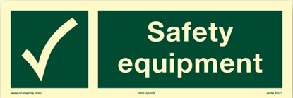 IMO Sign-safety equipment 30x10