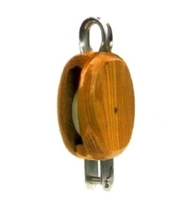 Picture of Moitão em madeira com olhal fixo e arreigada