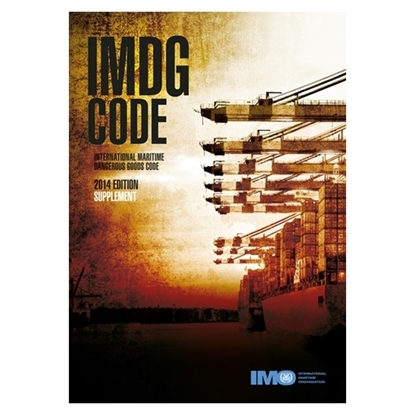 Picture of IMDG Code Supplement, 2014 Edition