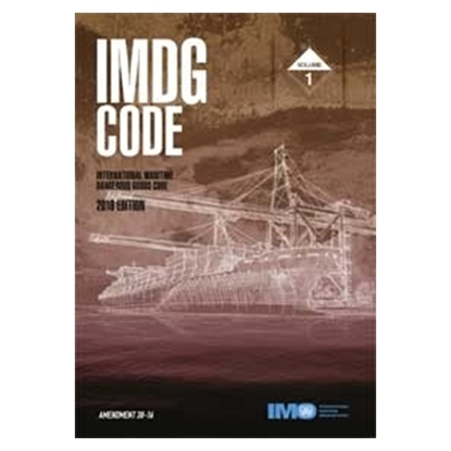 Picture of IMDG Code, 2016 Edition Amendment 38-16