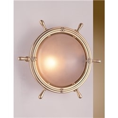 Picture of Wall Lamp on brass Steering Wheel