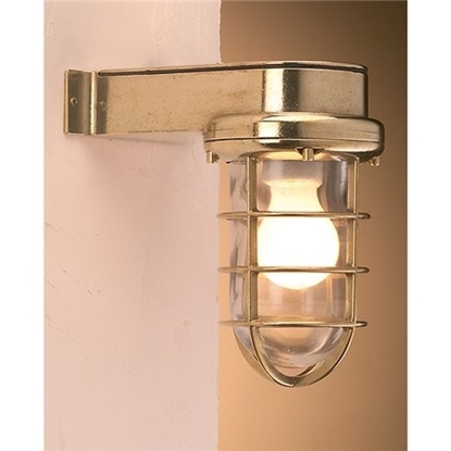 Picture of Water proof brass wall light